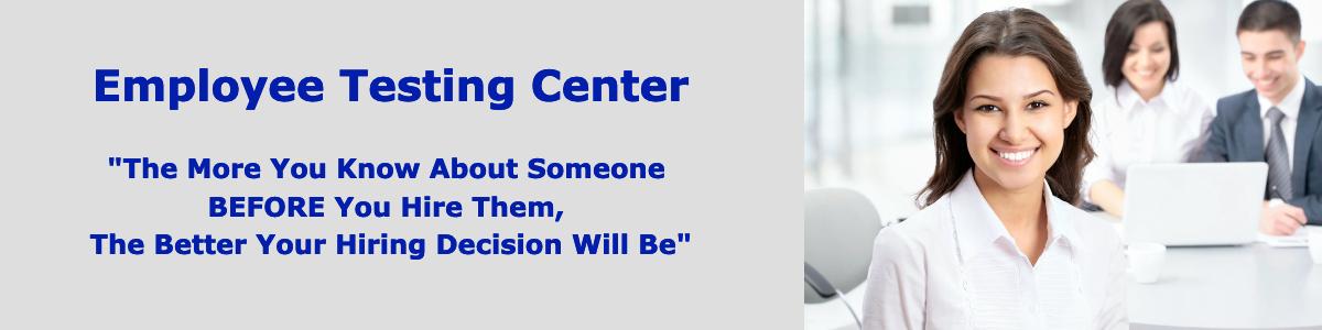 Employee Testing Center